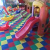 Piso Modular Kids Playground Com Amortecedor de Impacto Colorido