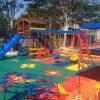 Playground Piso Kids Instalado Colorido para Condomínio